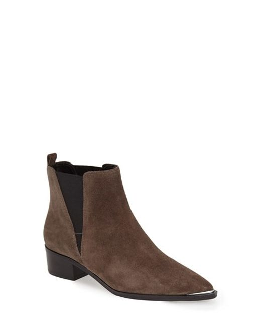Marc Fisher | Brown Yale Suede Chelsea Boots | Lyst