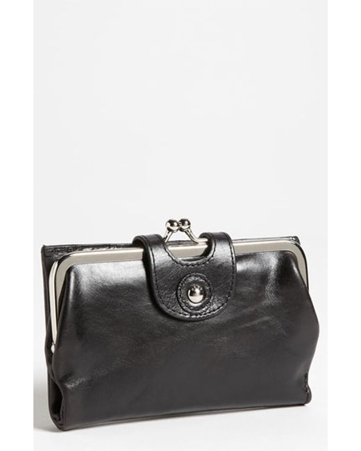 Hobo | Black 'alice' Leather Wallet | Lyst