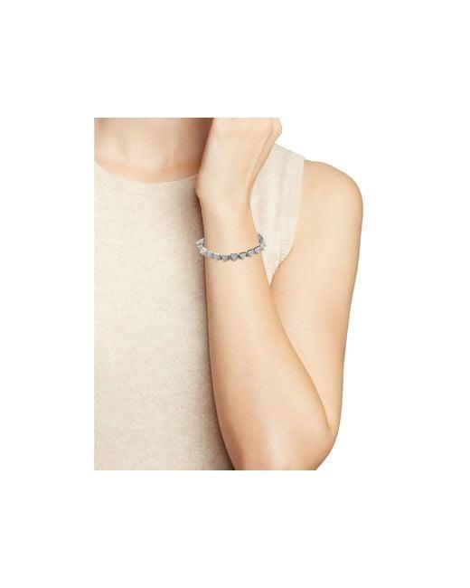 Eddie Borgo | Metallic Pavé Pyramid Bracelet | Lyst