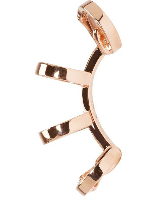 Repossi | Pink Rose Gold Multi-band Berbere Ear Cuff | Lyst