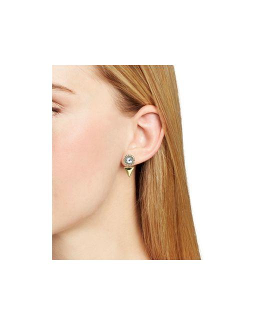 Rebecca Minkoff | Metallic Inverted Ear Jackets | Lyst