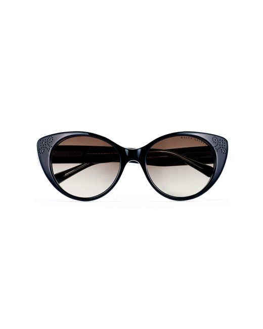Pink Pony | Black Cat Eye Spectator Sunglasses | Lyst