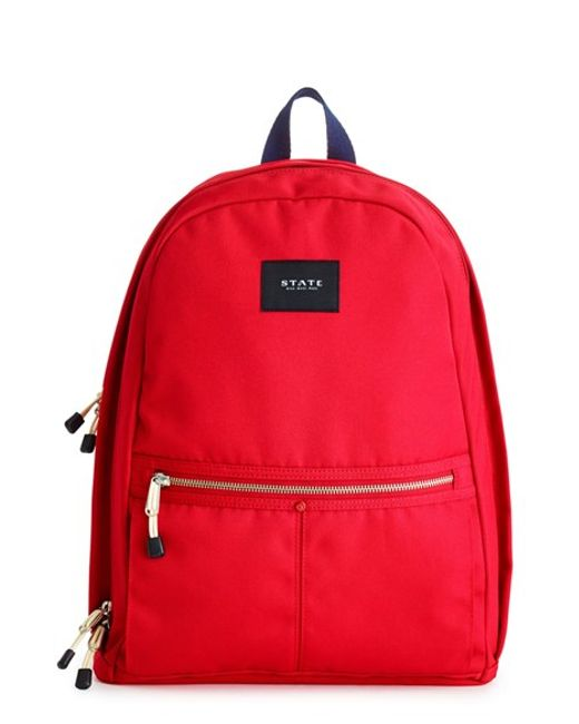 State Bags Bedford Backpack In Red For Men Lyst