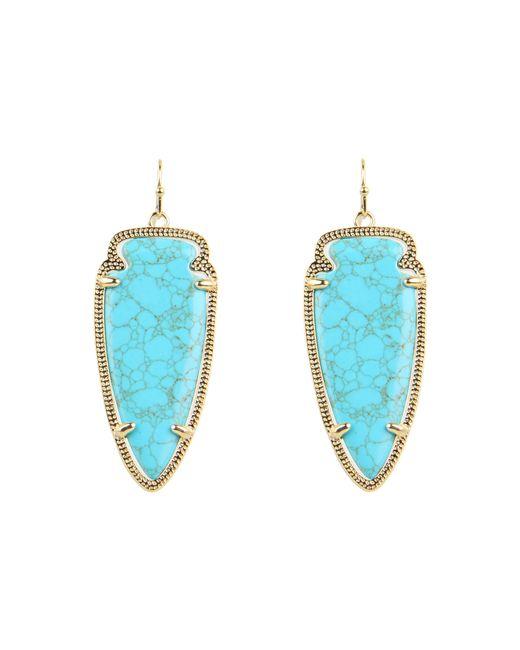 Kendra Scott | Blue Skylar Earring | Lyst