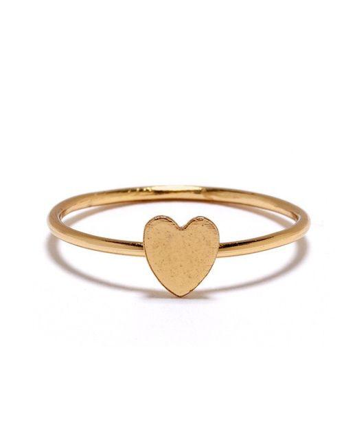 Bing Bang | Yellow Heart Ring | Lyst