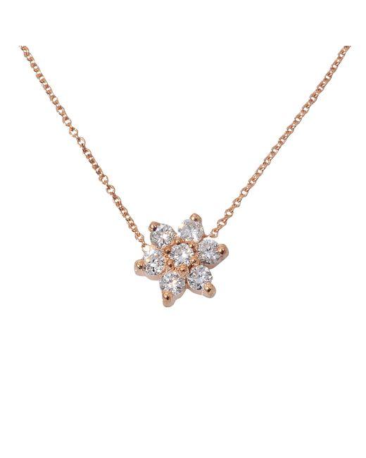 Ginette NY | Metallic Diamond Star Necklace | Lyst