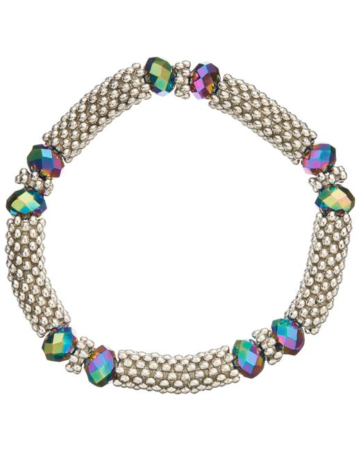 John Lewis   Metallic Crystal Bead Stretch Bracelet   Lyst