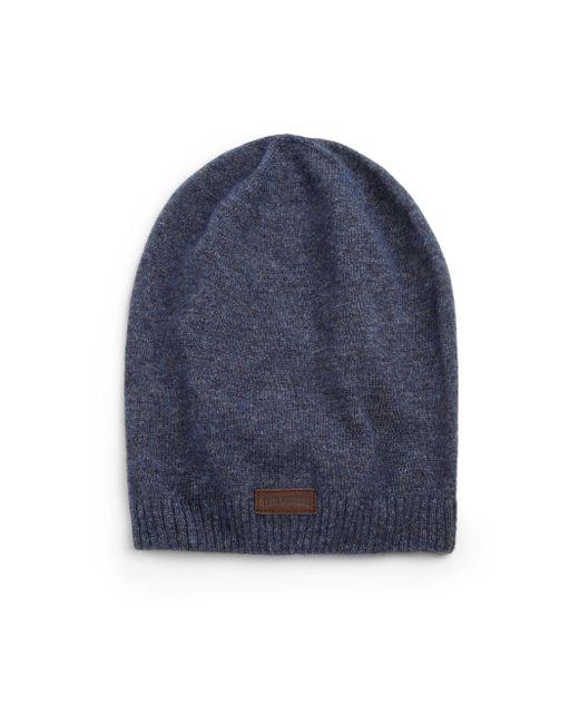 True Religion | Blue Knit Slouchy Beanie for Men | Lyst