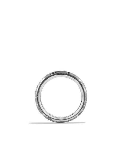 David Yurman | Metallic Fused Meteorite Ring for Men | Lyst