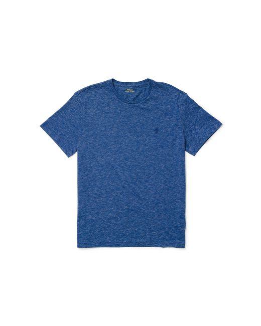 Polo Ralph Lauren | Blue Custom-fit Cotton T-shirt for Men | Lyst