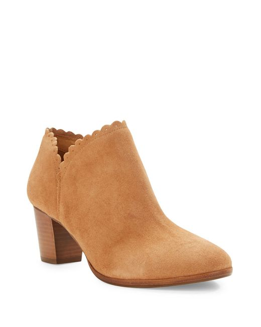 Jack Rogers | Brown Marianne Suede Ankle Boots | Lyst