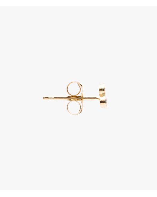 Ariel Gordon   Metallic Mini Diamond Triad Studs   Lyst
