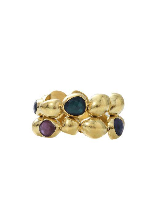 Vaubel | Metallic Pebble Stone Bracelet | Lyst