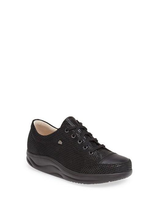 Finn Comfort | Black Finnamic By 'Ikebukuro' Walking Shoe | Lyst