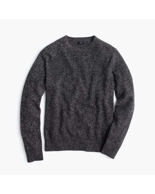 J.Crew | Gray Marled Lambswool Sweater for Men | Lyst