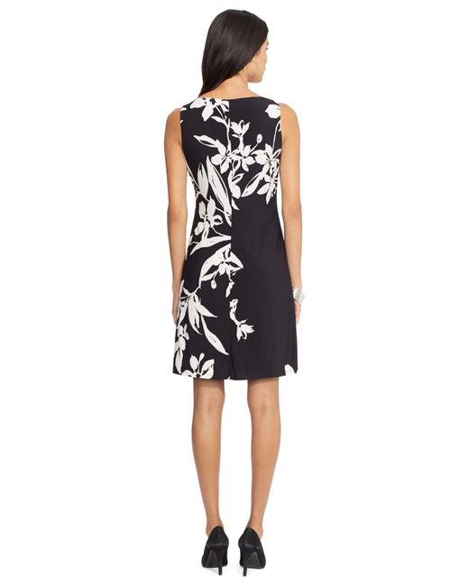 American Living Floral Print Sleeveless Dress In Floral