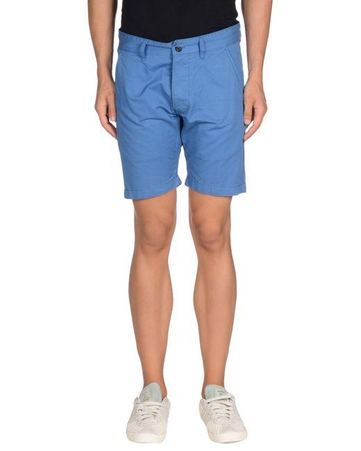 jack jones bermuda shorts in blue for men lyst. Black Bedroom Furniture Sets. Home Design Ideas