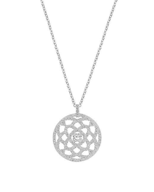 Swarovski | Metallic Daylight Crystal Pendant Necklace | Lyst