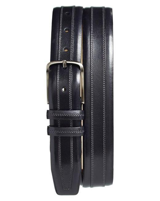 Mezlan | Black Leather Belt for Men | Lyst