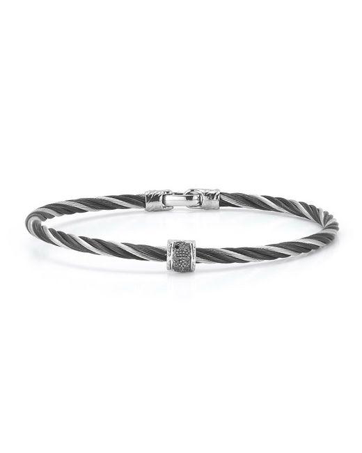 Alor | Metallic Diamond & Two-tone Cable Bracelet | Lyst