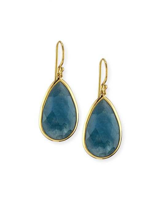 Ippolita | Blue Rock Candy® Medium Teardrop Earrings | Lyst