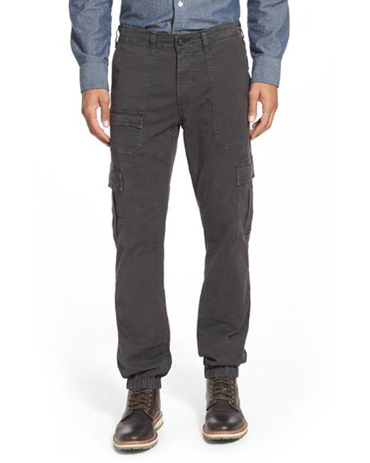 AG Jeans | Gray 'vanguard' Modern Cargo Pants for Men | Lyst