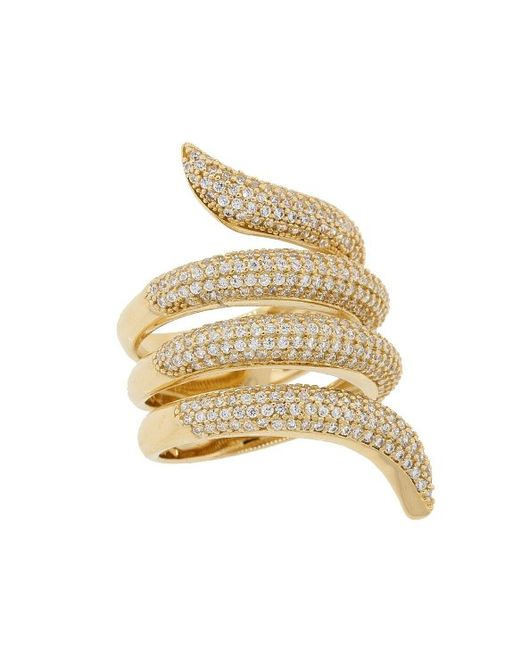 Mens Snake Wrap Ring