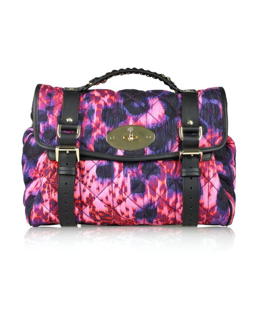 Mulberry | Multicolor Alexa Quilted Denim Bag | Lyst