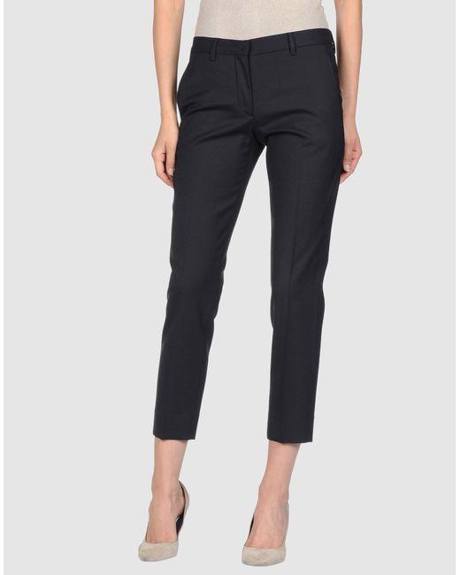 Miu Miu   Black Casual Pants   Lyst