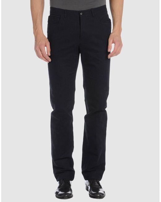 Lanvin | Blue Casual Pants for Men | Lyst