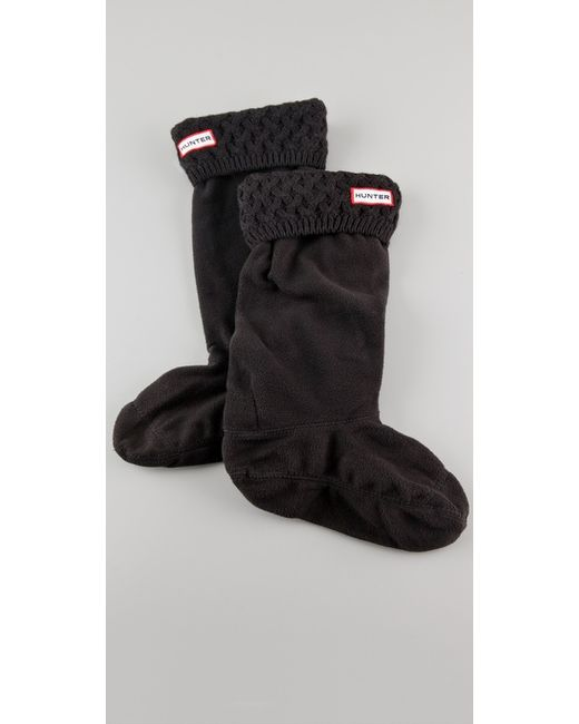 Hunter | Black Short Boot Socks | Lyst