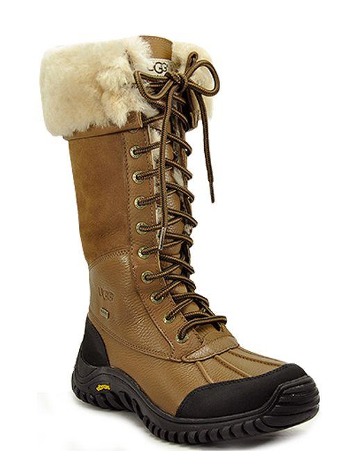 brown ugg adirondack boot