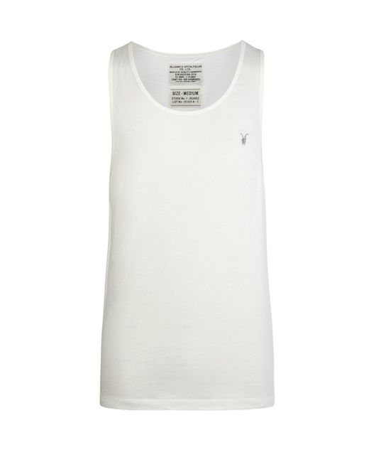 AllSaints | White Tonic Vest for Men | Lyst