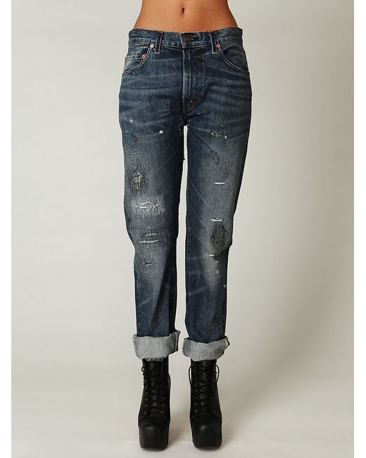 Free People | Blue Levi's 505c Jeans | Lyst
