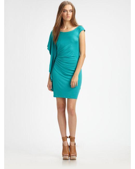 Ella Moss | Black Girls Best Friend Asymmetrical Dress | Lyst