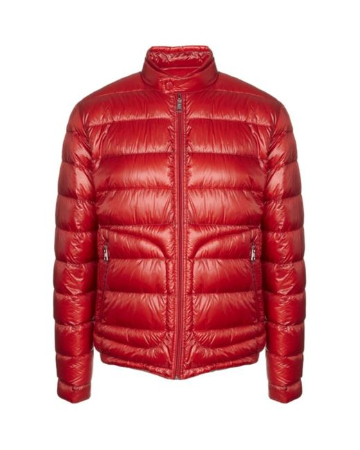Moncler Acorus Puffa Jacket In Red For Men Lyst