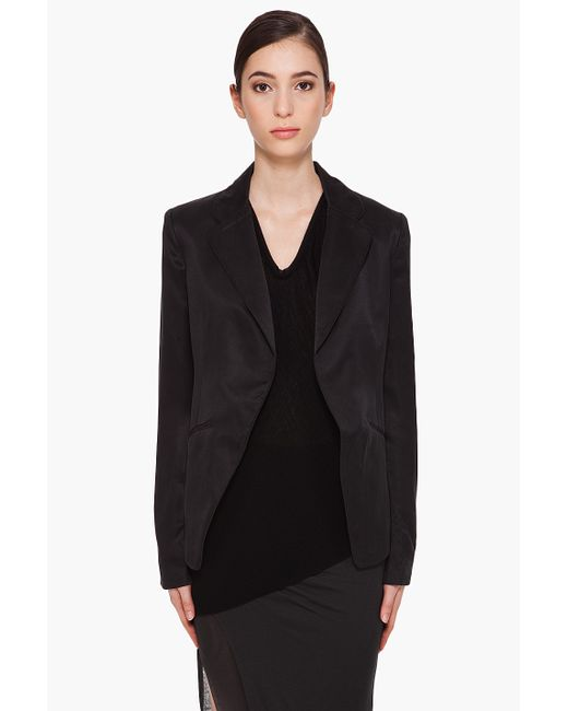 T By Alexander Wang | Black Full-length Jacket | Lyst