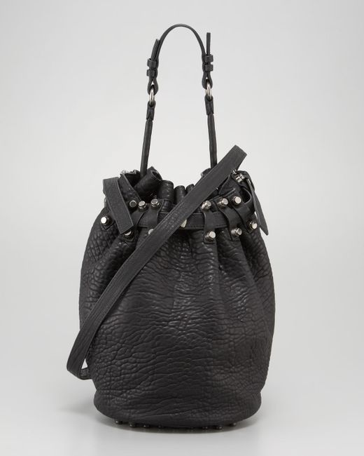 Alexander Wang | Diego Bucket Bag Black Nickel Hardware | Lyst