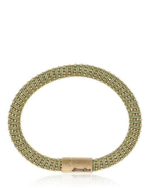 Carolina Bucci | Green Sage Twister Band Bracelet | Lyst