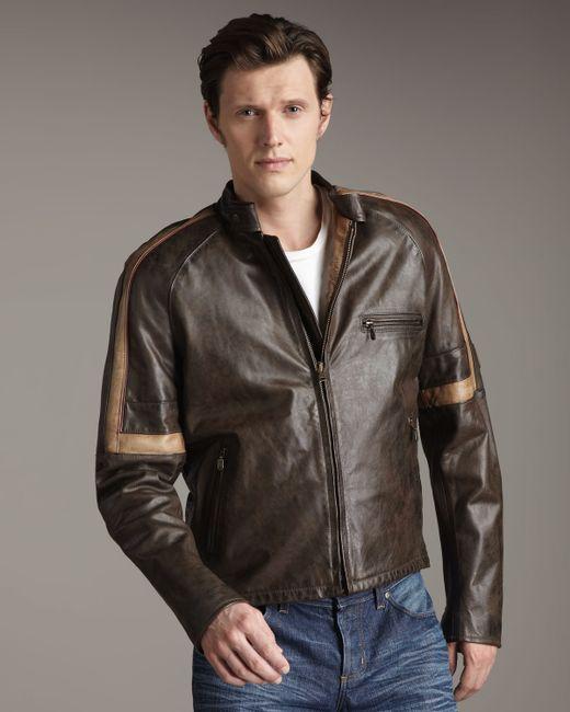 Belstaff   Black Hero Leather Jacket for Men   Lyst