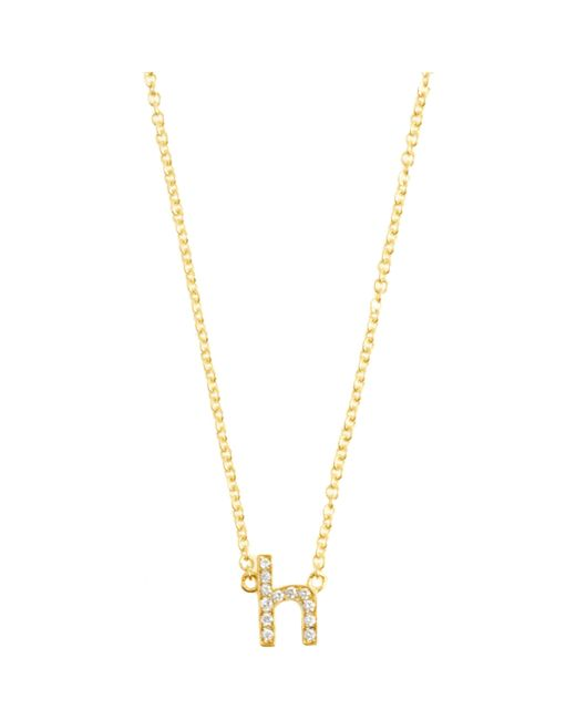 Jennifer Meyer | Metallic Diamond Single Flower Necklace | Lyst