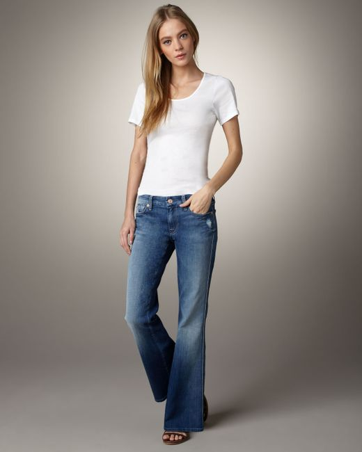 7 For All Mankind | Blue Lexie Jean Mercer | Lyst