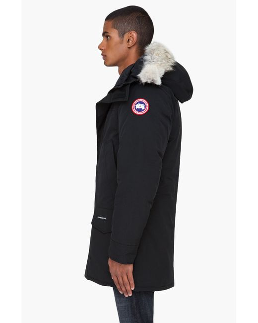 Canada Goose hats sale 2016 - Canada goose Chilliwack Polyblend Bomber in Black for Men - Save ...