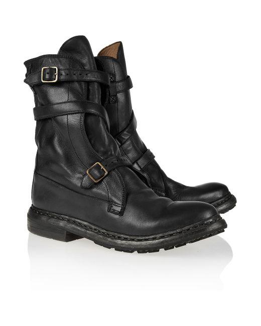 Burberry | Black Bactonul Patent Chelsea Boots | Lyst