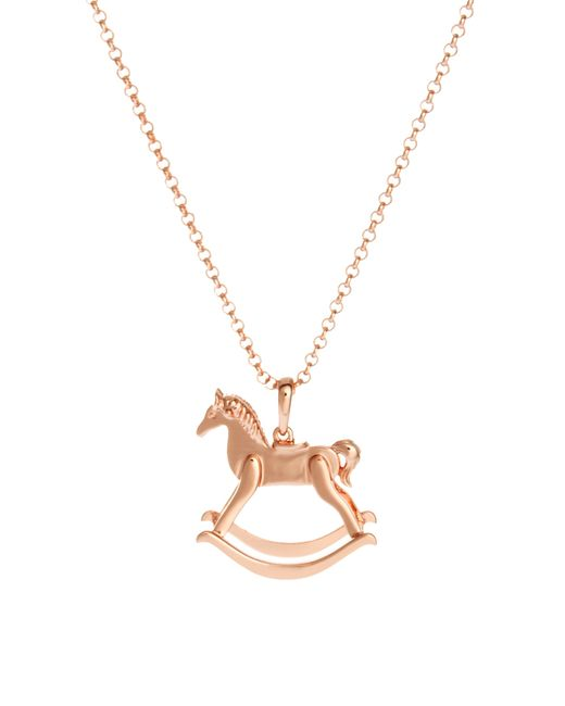 Ted Baker | Pink Rocking Horse Pendant | Lyst