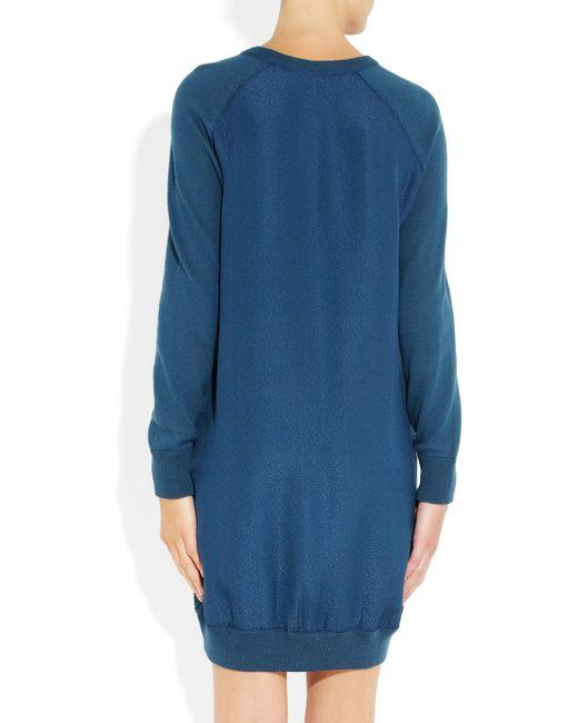 A.P.C.   Blue 'riviere' Dress   Lyst