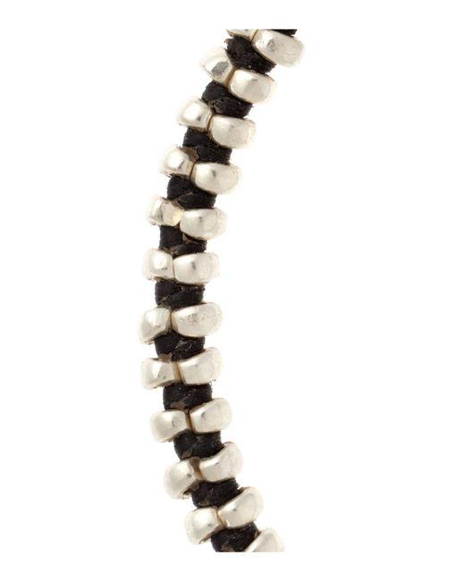Paul Smith | Black Eye Hook Bracelet for Men | Lyst