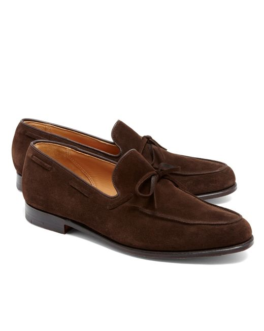 Brooks Brothers | Brown Lightweight Tie Loafers for Men | Lyst