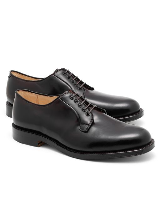 Brooks Brothers | Purple Cordovan Leather Bluchers for Men | Lyst