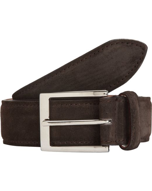 harris dress belt in brown for silver save 61 lyst
